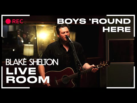 boys - Blake Shelton performs his song,