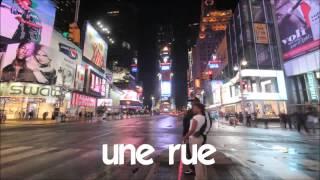 J'apprends à lire # 1 time lapse # une rue
