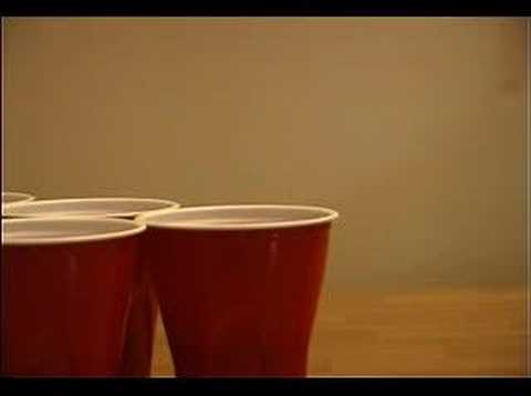 How To Play Beer Pong A.K.A. Beruit (SIMPLE VERSION)