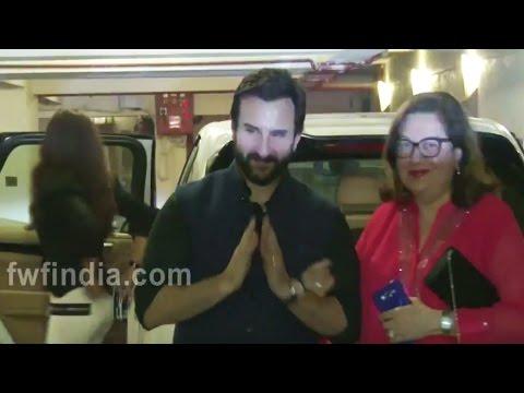 Christmas Party Celebration At Kareena Kapoor House karishma Kapoor Arrived.