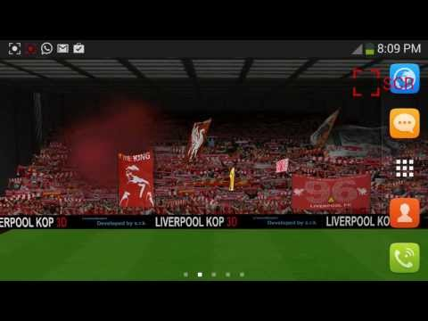 Video of Liverpool Kop 3D Free