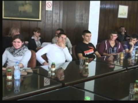 Učenici iz Nemačke u poseti Gornjem Milanovcu