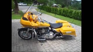 6. Harley Davidson Road Glide CVO 2009 to sell