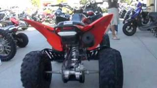9. 2008 YAMAHA RAPTOR 250 SE