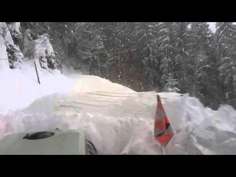 Steyr 8065 extrem Schneeräumung
