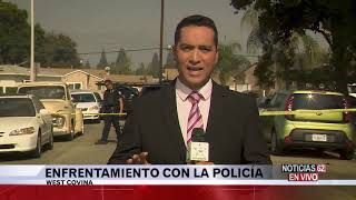 Enfrentamiento con la policía en West Covina – Noticias 62 - Thumbnail
