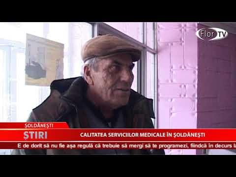 Calitatea serviciilor medicale în Şoldăneşti