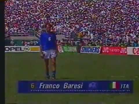 Pênaltis Brasil e Itália Copa do Mundo de 1994 (Completo, Band)