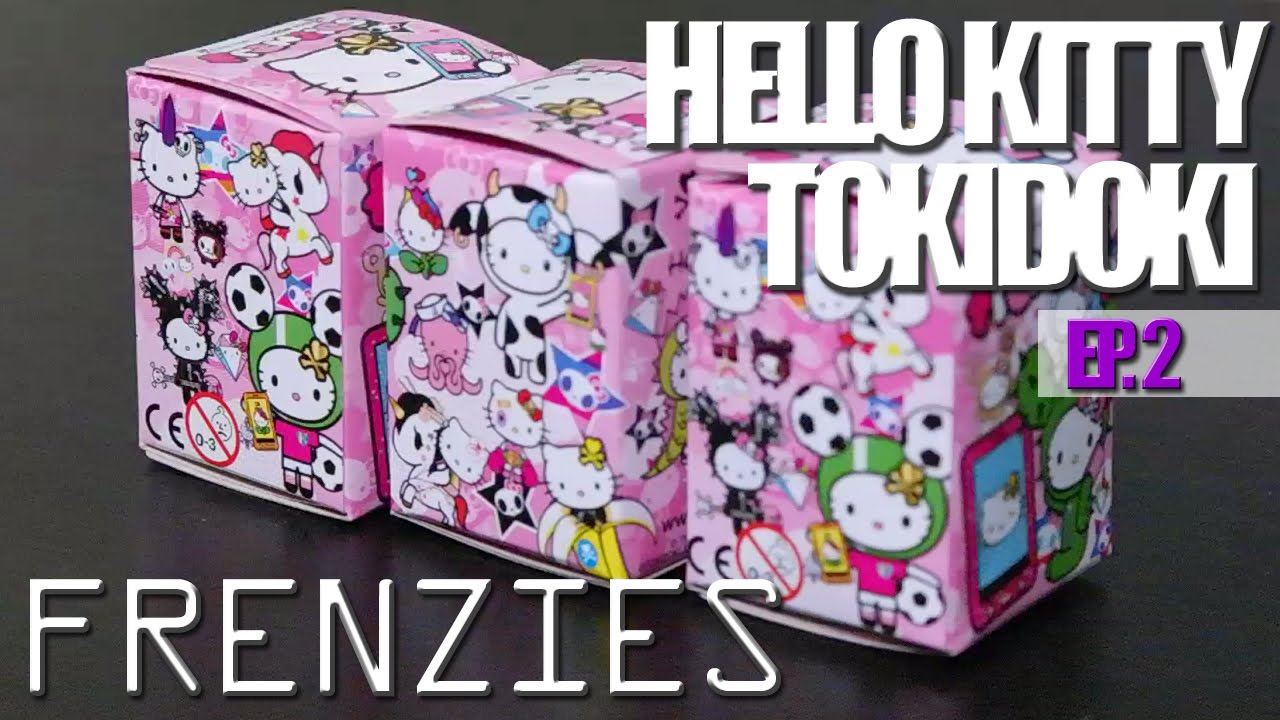 Tokidoki Hello Kitty FRENZIES Blind Boxes! Ep 2
