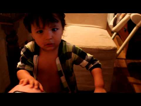 baby dancing hard to song drinking problem FUNNY