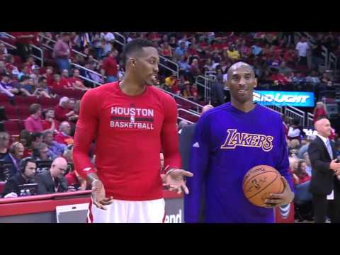 NBA Highlights: Lakers @ Rockets 12/12/2015