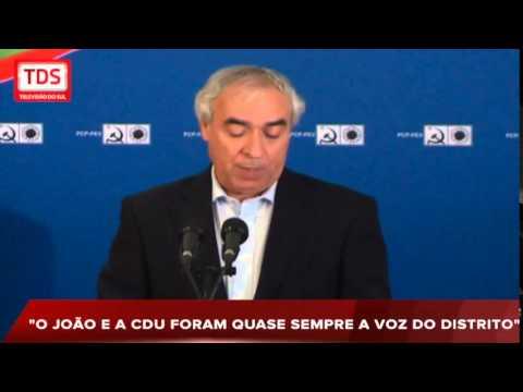 PINTO DE SÁ É MANDATÁRIO DISTRITAL DA CANDIDATURA DA CDU EM ÉVORA