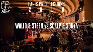 Walid & Mr. Steen vs Scalp & Sonya – Juste Debout Paris 2018 Popping Final