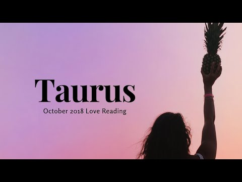 "Love messages - TAURUS OCTOBER 1-15 ""THEY'RE COMING BACK""2018 LOVE READING"