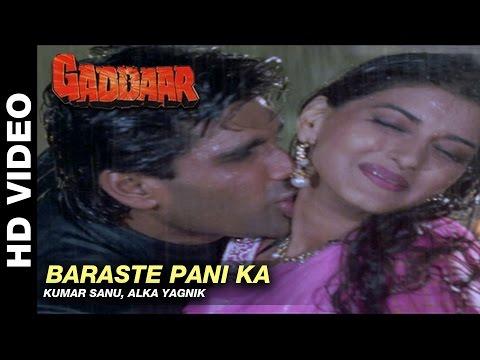 Video Barste Pani Ka - Gaddaar   Alka Yagnik    Sunil Shetty & Sonali Bendre download in MP3, 3GP, MP4, WEBM, AVI, FLV January 2017