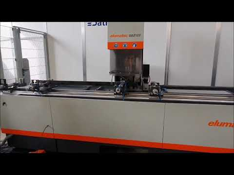 Horizontální obráběcí centrum CNC ELUMATEC SBZ 122/33 2015