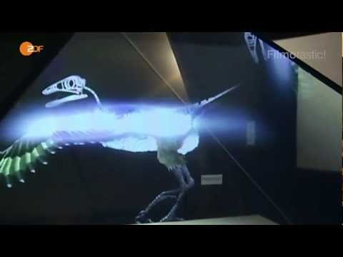 holographic animation - More info: www.filmotastic.com.