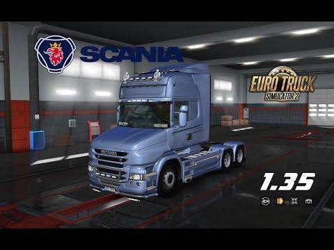 Scania T Mod by RJL v2.2.4 1.35.x