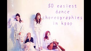 Video 50 The easiest dance choreographies in Kpop MP3, 3GP, MP4, WEBM, AVI, FLV April 2018