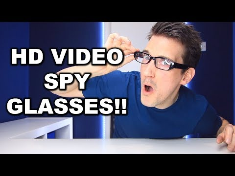FULL HD CAMERA SPY GLASSES!!