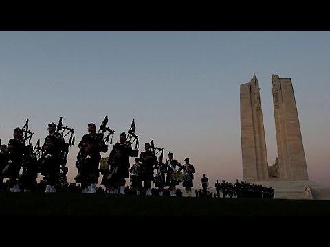 Εκατό χρόνια από τη Μάχη του Βίμι Ριτζ