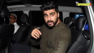 BFF's in town Ranveer Singh and Arjun Kapoor SPOTTED post a birthday bash | SpotboyE