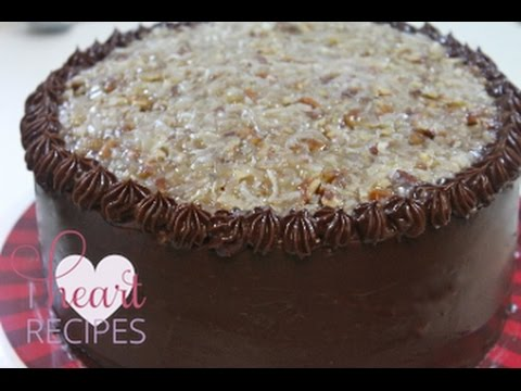 BEST German Chocolate Cake Recipe - Moist Chocolate Cake - I Heart Recipes