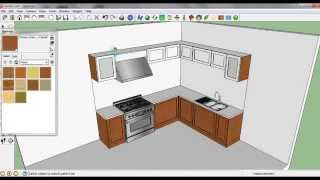 Video Sketch Up Tutorial membuat Kitchen Set MP3, 3GP, MP4, WEBM, AVI, FLV Desember 2017