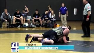 Rochester High School Wrestling vs Northwestern
