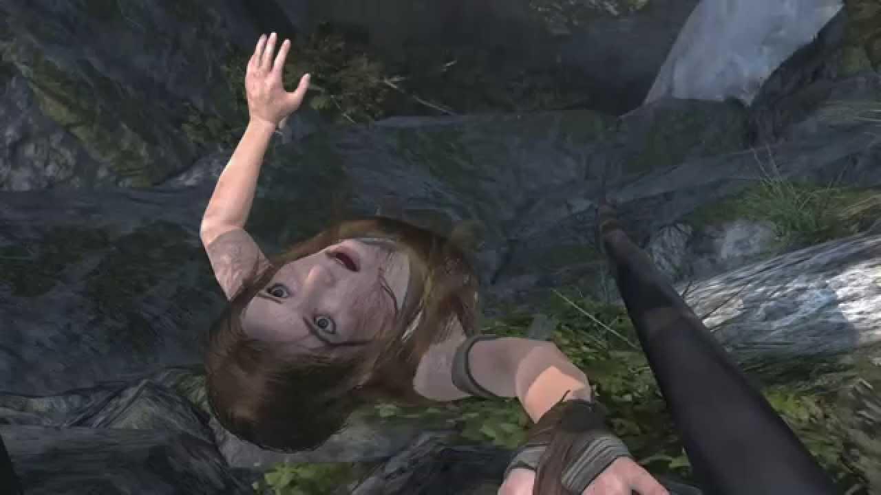 [Tomb Raider] Creepy Glitch!