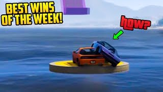 BEST WINS & KILLS OF THE WEEK IN GTA ONLINE! (Ep. 40)▶Cheap Games & Discounted Shark Cards: https://www.g2a.com/r/datsaintsfan▶Mobile App: http://www.g2a.com/on/saints-------------------------------------------------------------------How to submit clips:▶BEST DEATHS HERE: https://goo.gl/9zyG0I▶BEST KILLS HERE: https://goo.gl/AyVJ73▶BONUS CLIPS HERE: https://goo.gl/012C1zMore of Me!•My Discord: https://discord.gg/saintsfan•Twitch (Livestream): http://www.twitch.tv/dat_saintsfan•2nd Channel: http://www.youtube.com/MoreSaintsfan•Twitter: http://twitter.com/Dat_Saintsfan•Follow me on Instagram: http://instagram.com/dat_saintsfan•Facebook: https://www.facebook.com/itsDatSaintsfanFollow THE SQUAD►DatSaintsfan - https://www.youtube.com/360NATI0N►Garrett (JoblessGamers) - https://www.youtube.com/Joblessgamers►MrBossFTW - https://www.youtube.com/MrBossFTW---------------------------------------------------Music byhttps://www.youtube.com/channel/UCQKGLOK2FqmVgVwYferltKQIntro byhttps://www.youtube.com/user/RavenProDesign