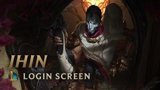 Jhin, the Virtuoso | Login Screen - League of Legends
