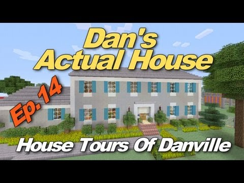minecraft house tour - Thanks for Watching Guys! Click the link for the Danville Town Music Video! http://www.youtube.com/watch?v=DyBuZskjqDg Follow me on Twitter! www.twitter.com/...