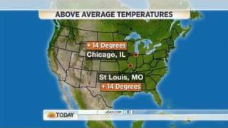 Much of the United States has been enjoying unseasonably warm weather, and it has many people asking whatever happened to...