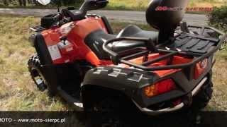 8. Quad ATV CFMOTO TERRALANDER 800 X8 EFI 4x4 2013 MOTO - SIERPC