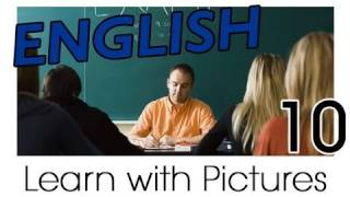 English School Vocabulary, Learn English Vocabulary With Pictures