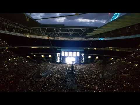 Ed Sheeran Perfect Symphony LIVE With Andrea Bocelli Wembley 14th June 2018