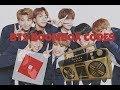 BTS MUSIC CODES