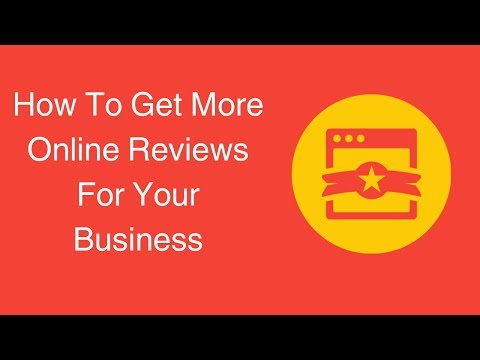 Watch 'How To Get More Online Reviews For Your Business'