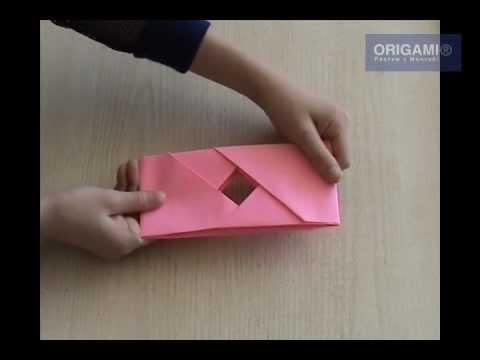 Юла оригами - Youtube