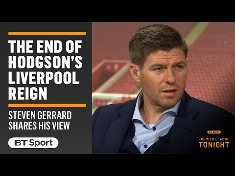 """It Was Uncomfortable Playing Under Hodgson."" Steven Gerrard Opens Up On Liverpool And Roy"