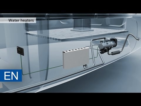 Webasto Marine water heater – Webasto heating solution on board