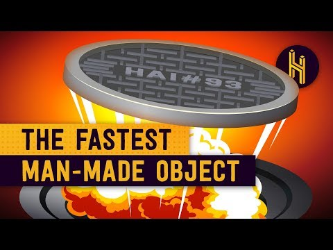 How a Manhole Cover Became the Fastest Manmade Object Ever