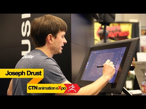 joseph - Last month Pixologic attended the 2014 CTN Animation eXpo in Burbank CA and we caught some of it on video. We'll be posting videos from the other artists that attended on our YouTube channel...