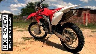 8. Honda CRF450X 2012 Teaser