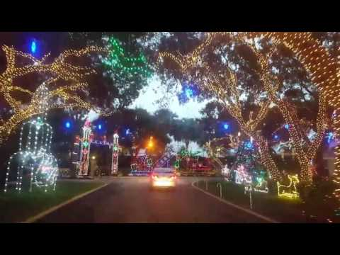 Beautiful Christmas Display Near Jupiter FL