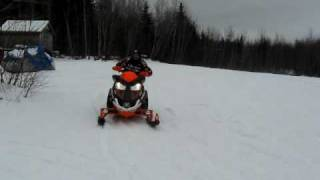 10. 2009 Arctic Cat F8 Sno Pro with MBRP CAN