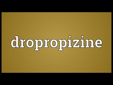 Dropropizine Meaning