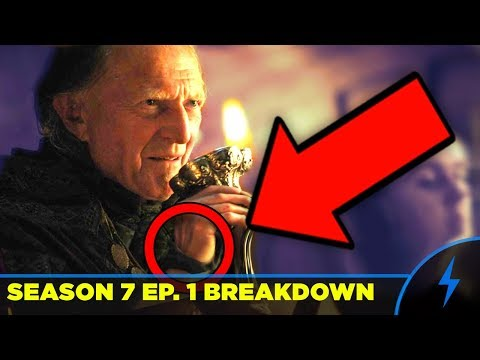 "Game Of Thrones Season 7 Episode 1 BREAKDOWN & EASTER EGGS ""Dragonstone"" Giant Wight Theory! (7x01)"