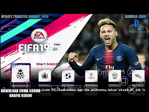 Cara Download Game PES 2015 Mod FIFA 2019 PPSSPP Android